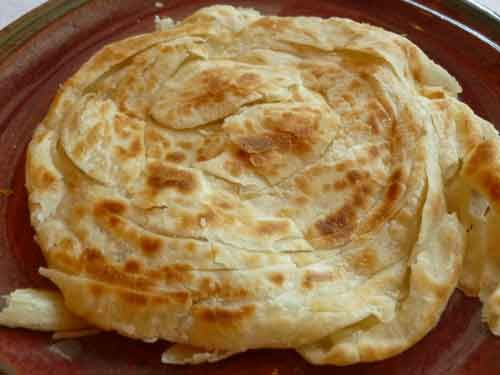 Malabar Parotta (Kerala Paratha) Indian Bread Recipe