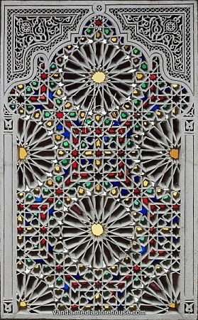 Tunisian stained glass