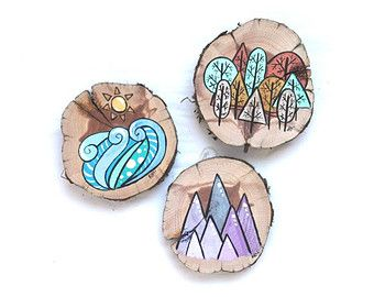 Popular items for log slices on Etsy
