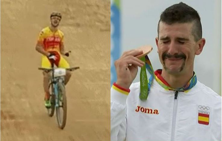 #Marca #Rio2016  #Mountainbike #CarlosColoma #medallaDeBronce 🏅👏👏👏 #TeamESP  http://www.marca.com/juegos-olimpicos/2016/08/21/57b9df82268e3edf358b45fd.html