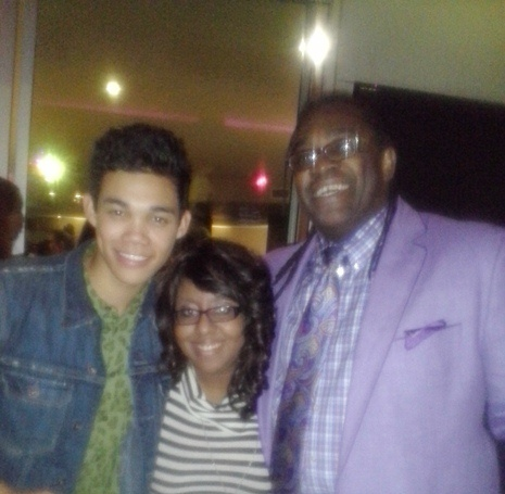 Roshon, Zendaya's dad and I  ❤