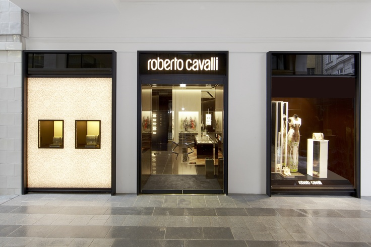 The new #RobertoCavalli flagship store in Vienna!