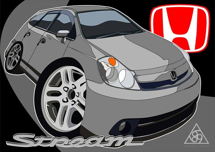 Honda Stream 2007.