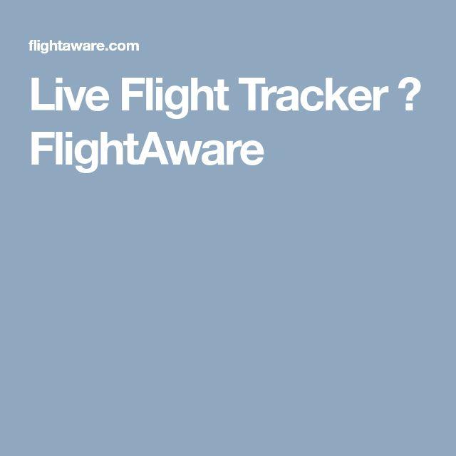 Live Flight Tracker ✈ FlightAware