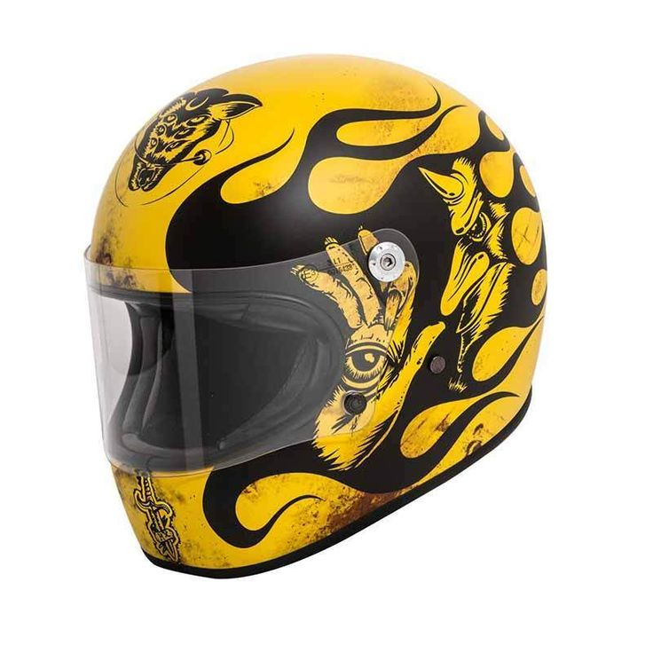 """Trophy BD 12 BM"" by PREMIER HELMETS. Looking for retro motorbike helmets with ECE or DOT safety standard? Check out our store!"