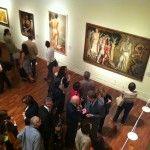 """Mostra """"Cézanne e gli artisti italiani del '900"""" - Roma, Complesso Monumentale del Vittoriano. allestimento #BCProgetti.  Mostre a Roma, arte, eventi, esposizione, exhibition, exhibit design."""