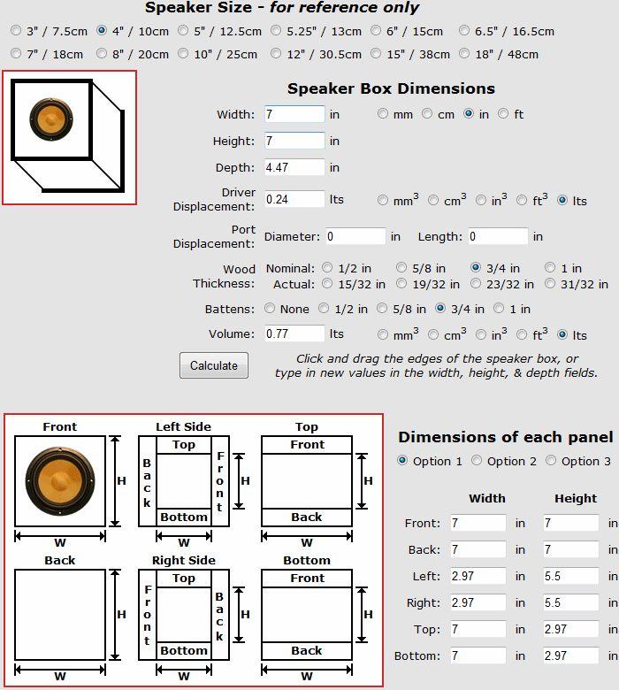 190 best DIY Loudspeakers images on Pinterest   Loudspeaker, Diy ...