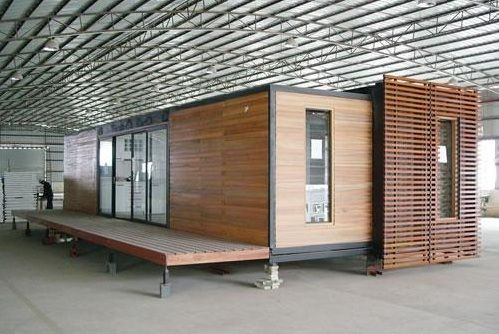 Exterior ideas for shipping container housing