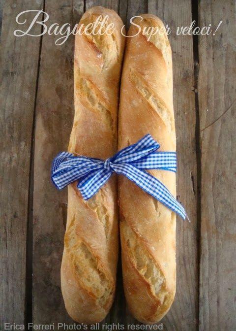 Ogni riccio un pasticcio - Blog di cucina: baguette francesi velocissime da fare con lievito di birra