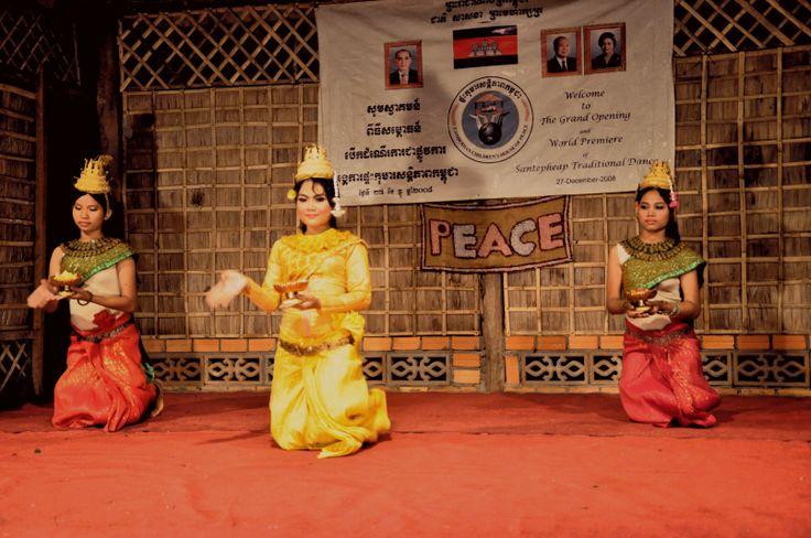 Cambodia-Apsara dancer