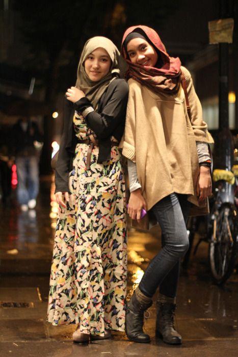 Hana Tajima & Yuna. Gorgeous boots!