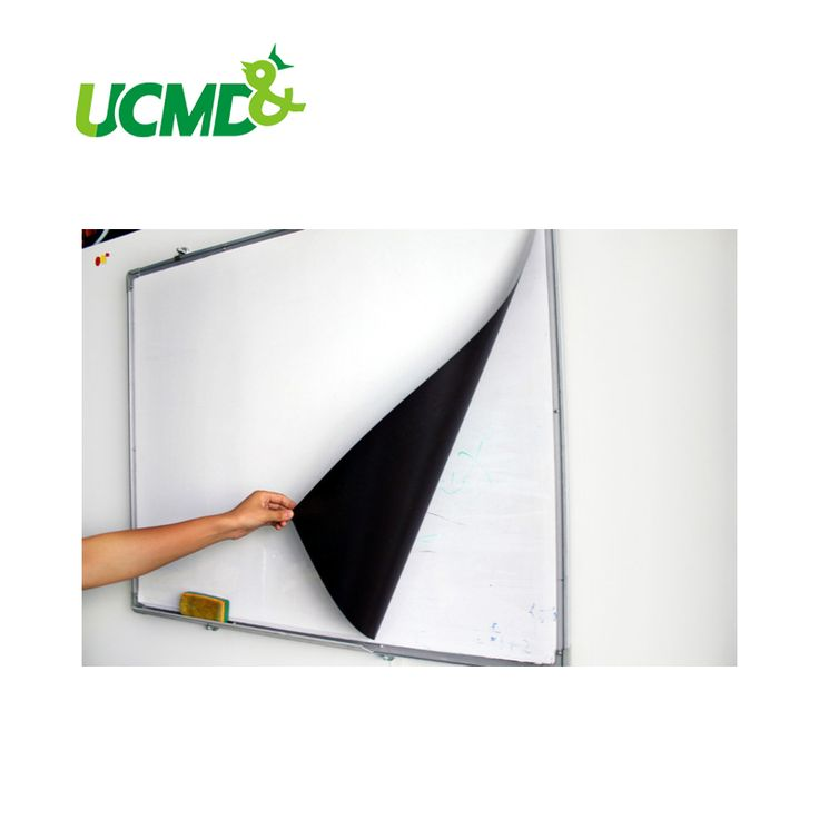 Self-Magnetic Whiteboard Sticker For Cover Old Whiteboard or Ferrous Metal Surface 120 cm x 80 cm x 0.3 mm