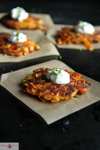 Sweet Potato Latkes by Heather Christo, via Flickr