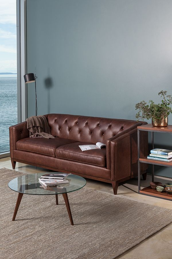 Take on a rich, warm tone for fall with the help of our new chocolate leather.