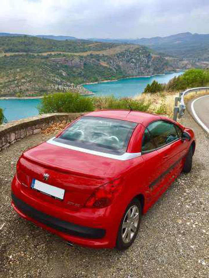 Peugeot 207 Cc 1 6 Vti Descapotable O Convertible De Segunda Mano En Lleida Autocasion Peugeot Lleida Convertible