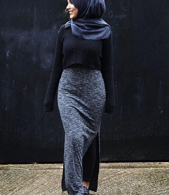 A bit too tight, but nice hijab fashion inspiration