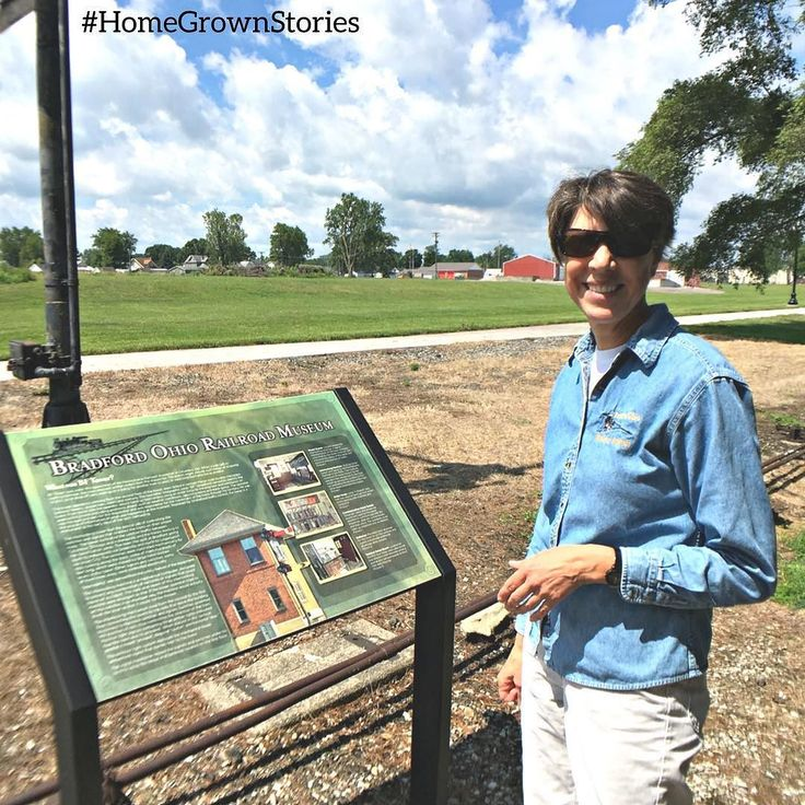 #HomeGrownStories  Marilyn Kosier a Lancaster Ohio ophthalmologist grew up in Miami County. In 2002 she started the work that would lead to the creation of the Bradford Ohio Railroad Museum. The  idea for the museum came from her dad. While at a Bradford Railroaders basketball game he mentioned the town needed a museum to celebrate its heritage. The museum is undergoing an exhibit renovation  and is excited to offer a new interpretative experience for visitors.  About the history of Bradford…