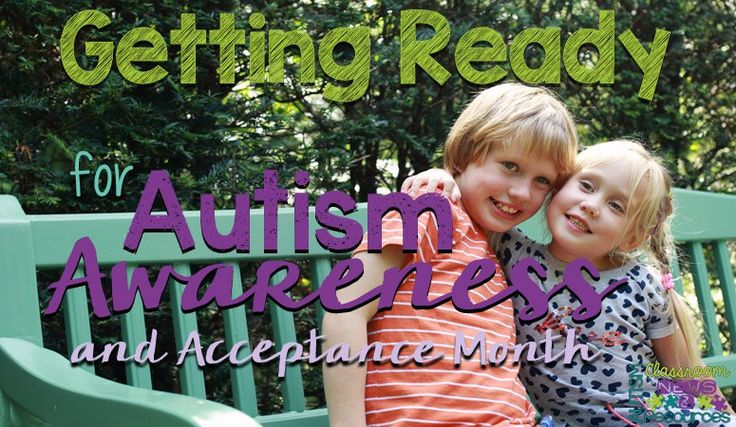 Getting Ready for Autism Awareness and Acceptance Month 2016