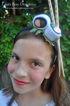 DIY Sushi Costume: Sushi Headband