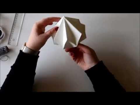 DIY Origami Diamond - YouTube