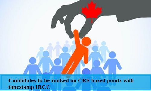 Candidates to be Ranked on CRS Based Points with Timestamp-IRCC. Read more.. #morevisas #CanadaImmigration #CanadaPR  https://www.morevisas.com/immigration-news-article/candidates-to-be-ranked-on-crs-based-points-with-time-stamp-ircc/5173/