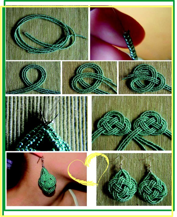 Beaded earrings tutorial tutorial orecchini fai da te - Tutorial fai da te ...