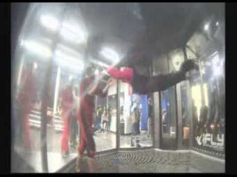 iFly indoor skydiving experience - YouTube