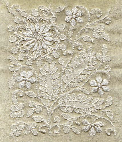 Georgette with chikankari by soulquest.lifestyle, via Flickr