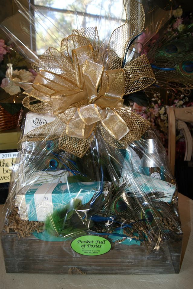 17 best custom gift baskets images on pinterest gift basket gift custom gift baskets available at pocket full of posies florist gifts galloway new jersey negle Images