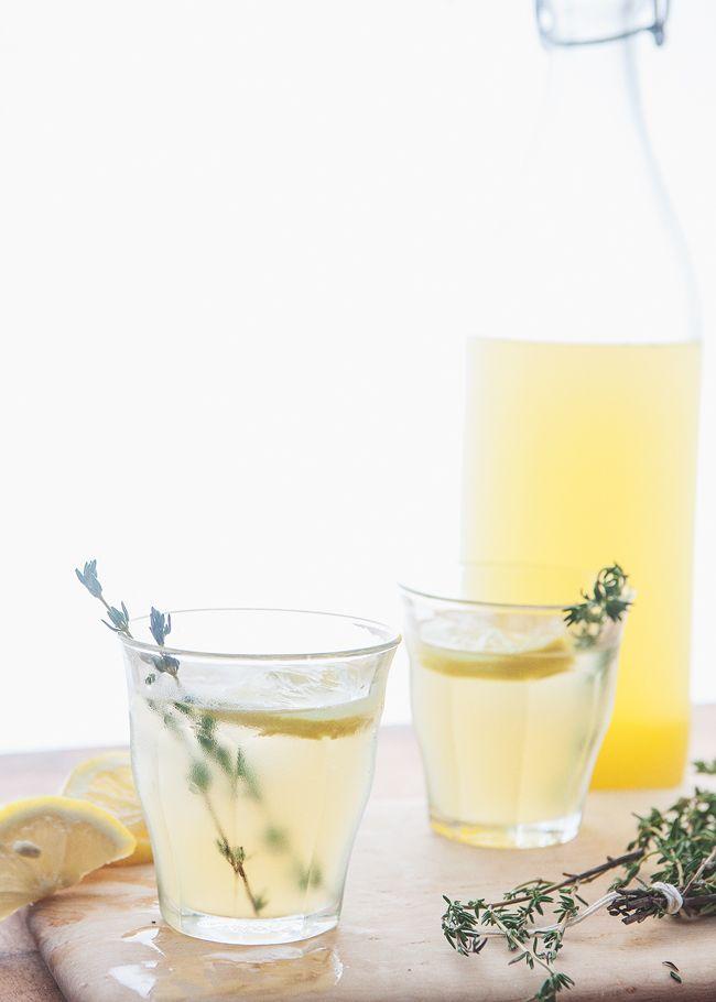 Gin Thyme Lemonade » The Tart Tart