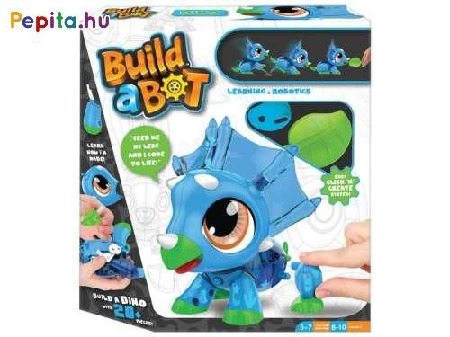 BUILD A BOT BLUE DINO LEARNING ROBOTICS DINOSOUR ROBOT TOY. NEW