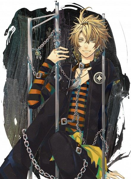 Tags: Anime, Chain, Striped Shirt, Yandere, AMNESIA, Toma (AMNESIA), Multiple BeltsThief Of Hermes