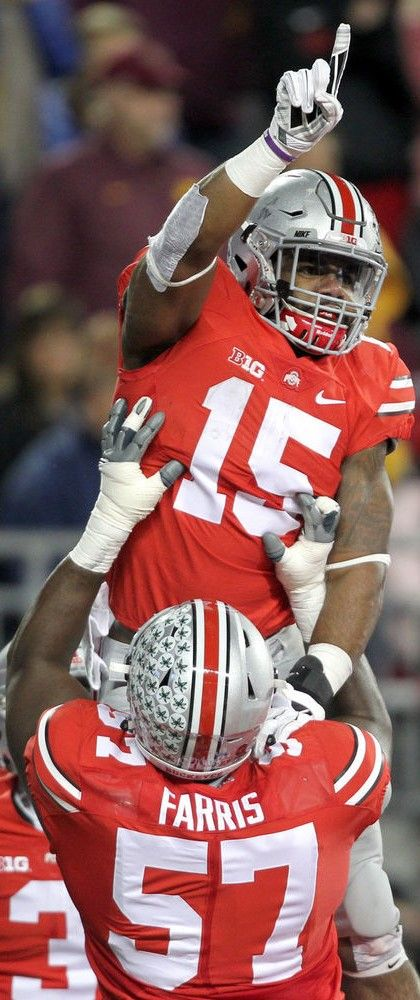 "Ezekiel "" Zeke "" Elliott #15 } **** Ohio State Football #GoBucks #Buckeyes"