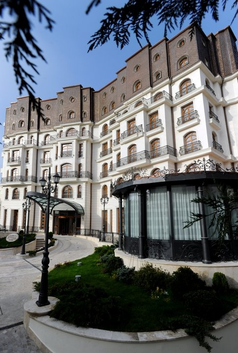 welcome!  Epoque Hotel, Bucharest, Romania