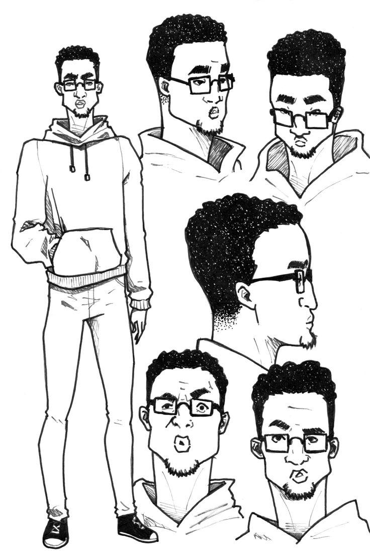 Some characters design #doodle #illustration #drawing #art #ARTwork #comicART #mixedmedia
