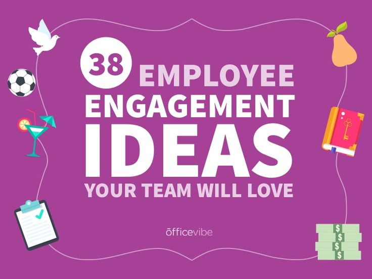 Team building is an important part of making employees happy. Here are 38 employee engagement ideas you can use right away with your team.  Read more on Office…