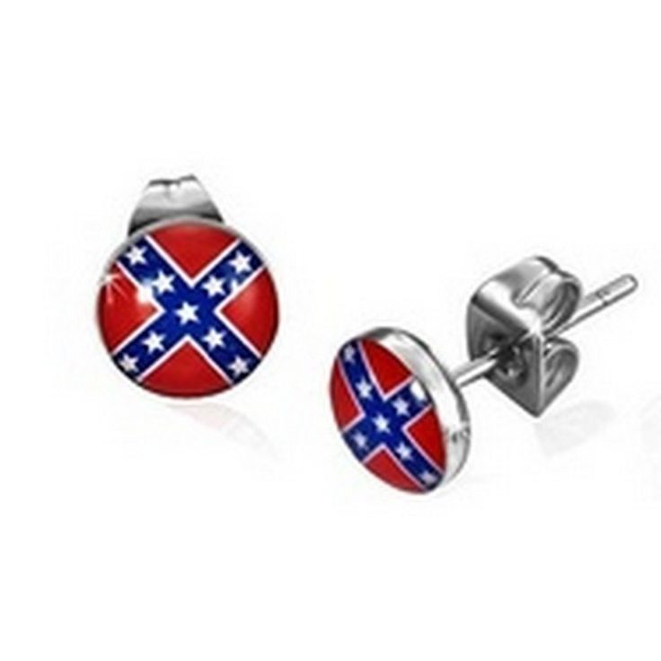 28 best rebel flag jewelry images on Pinterest | Rebel ...