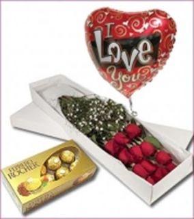 Enamorame Hermosas rosas en caja, acompañadas de chocolates ferrero rocher, seguro le encantara. Estamos para servirte www.surprisesbogota.com tel: 4380157 Cel: 3123750098
