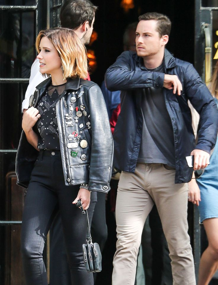 Sophia Bush Holds Hands With Her Boyfriend in NYC
