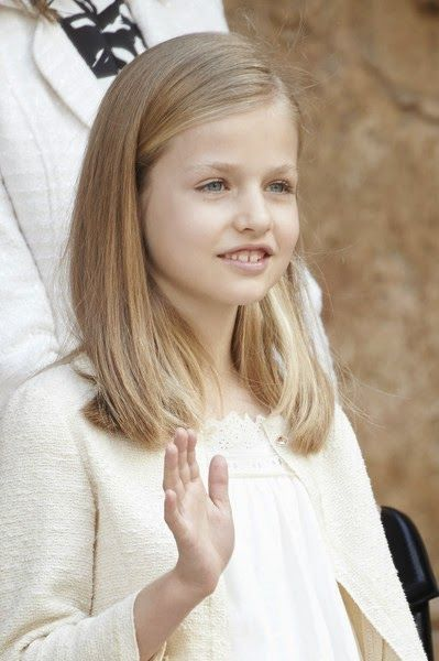 Spanish Royals attended the Easter Mass at the Cathedral of Palma de Mallorca on April 5, 2015 in Palma de Mallorca, Spain.
