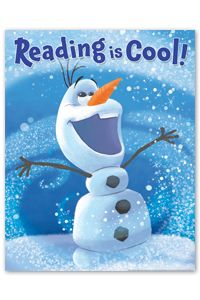 Olaf Reading is Cool Poster - New Products - Posters - Products for Children - ALA Store