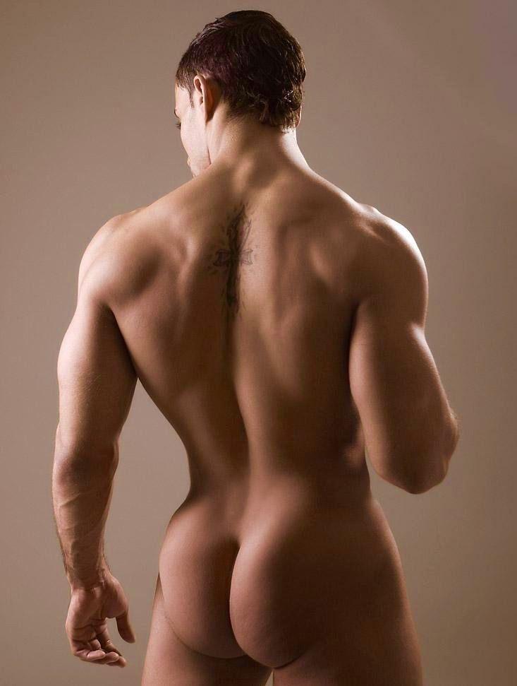 Bare ass male men