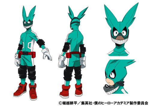 My Hero Academia Anime's Cast - Daiki Yamashita (Yowamushi Pedal's Sakamichi Onoda, Log Horizon's Tōya) as Izuku Midoriya
