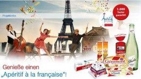 """""""Apéritif à la française"""" Test-Box - 1000 ausgewählten Liebhaber probieren französische Spezialitäten http://www.france-bonappetit.de/2014/07/testbox-aperitif-a-la-francaise/"""