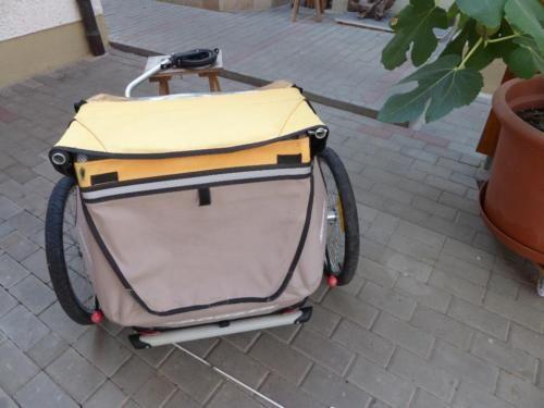 Fahrradanhänger Croozer 535 in Bayern - Wassertrüdingen   Fahrrad Zubehör gebraucht kaufen   eBay Kleinanzeigen