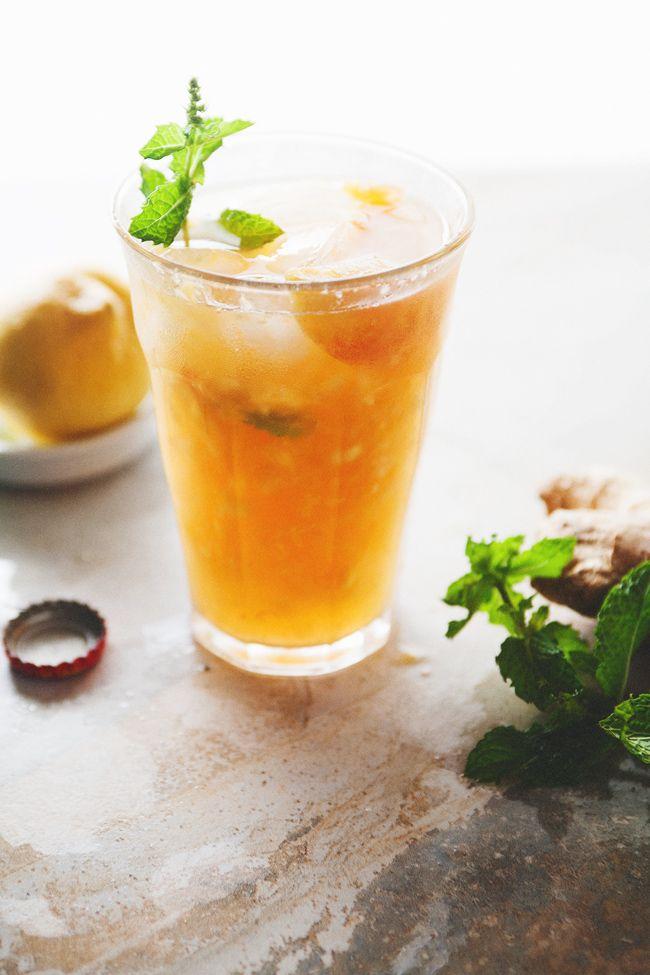 Ginger Peach Julep | The Tart Tart