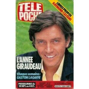 L'année Bernard Giraudeau, dans Télé Poche (n°1024) du 23/09/1985 [couverture et article mis en vente par Presse-Mémoire]