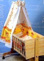 Babywiege Culla per neonato Set completo Cuscino Coperta Cielo Materasso