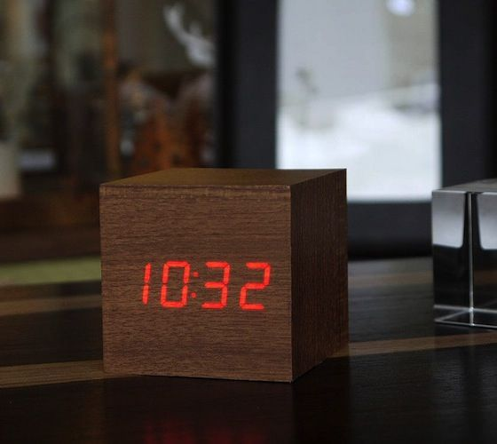 25 best clocks images on pinterest alarm clock alarm. Black Bedroom Furniture Sets. Home Design Ideas