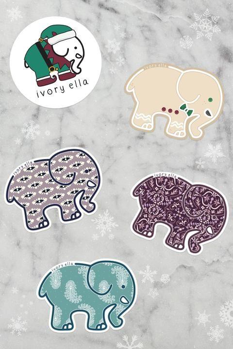 76c595b060a December Sticker Pack in 2019 | #IvoryEllaLifestyle | Ivory ella ...
